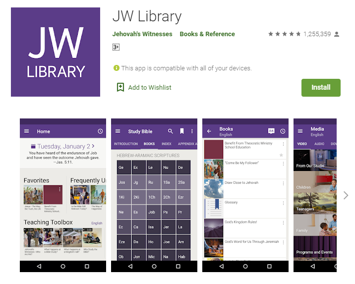 JW Library for windows
