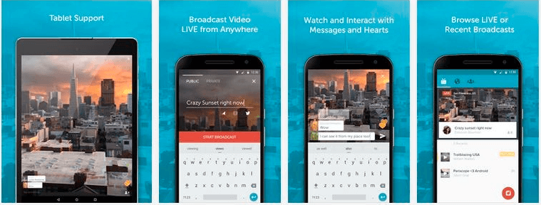 features of Periscope for Mac