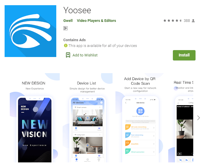 Download and Install Yoosee for MAC