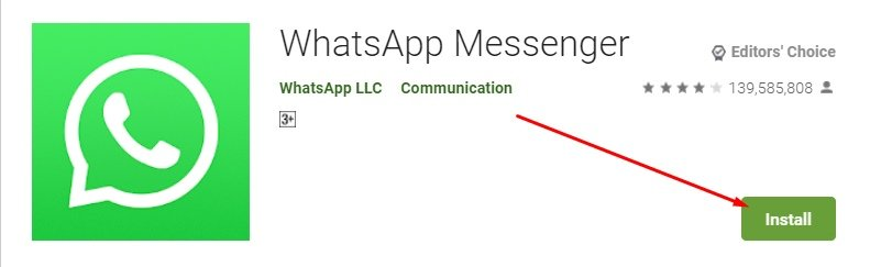 Download and install WhatsApp for mac