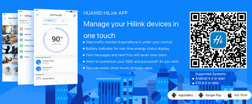 about Huawei HiLink for Mac