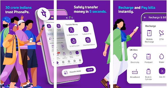 about PhonePe for Mac and pc