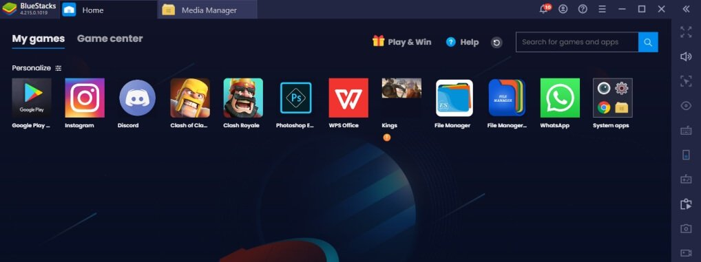 features of BlueStacks Android Emulator for Mac