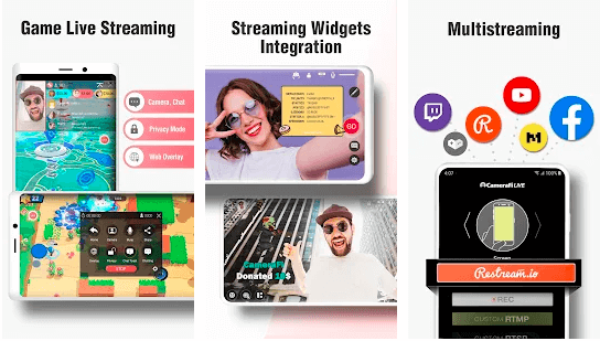 features of CameraFi for Mac