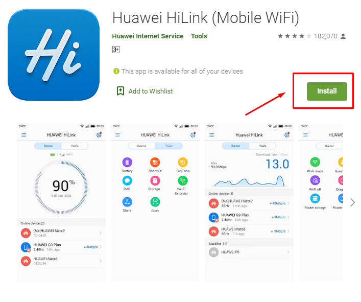 how to Download & install Huawei HiLink for MAC