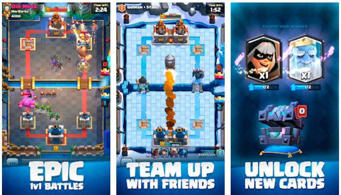 What Features Clash Royale Have