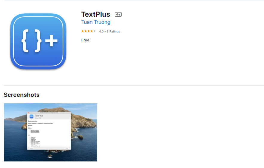 TextPlus for Mac