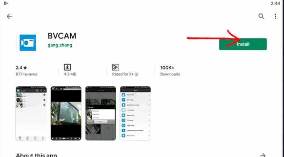 Download and Install BVCam for MAC