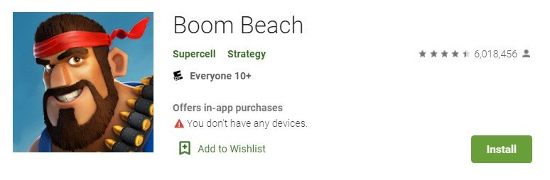 Boom Beach for windows