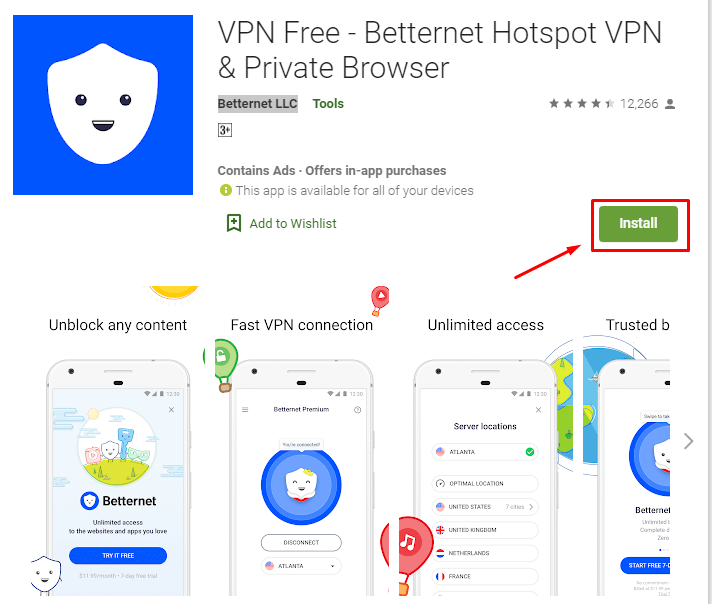 How to Download and install Betternet VPN for Mac