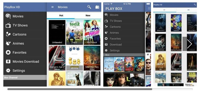 PlayBox HD for Mac