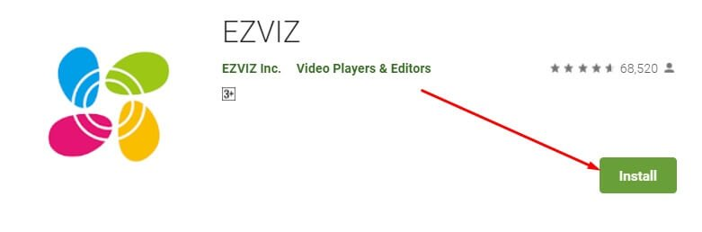 how to download and install EZVIZ for mac