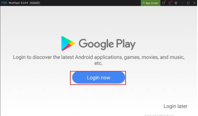 login with a gmail To Download and Install Spectrum TV App for Mac