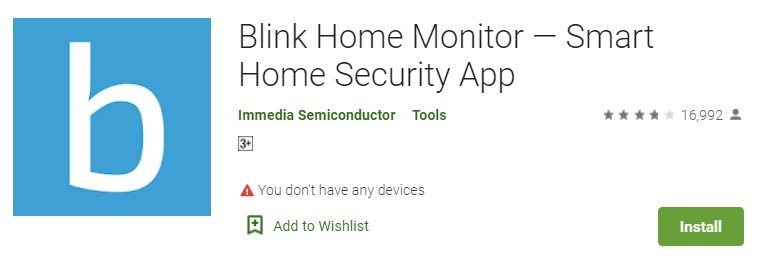 Blink app for windows