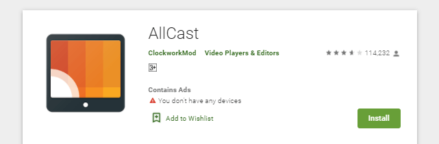 How to Download and Install AllCast for Mac