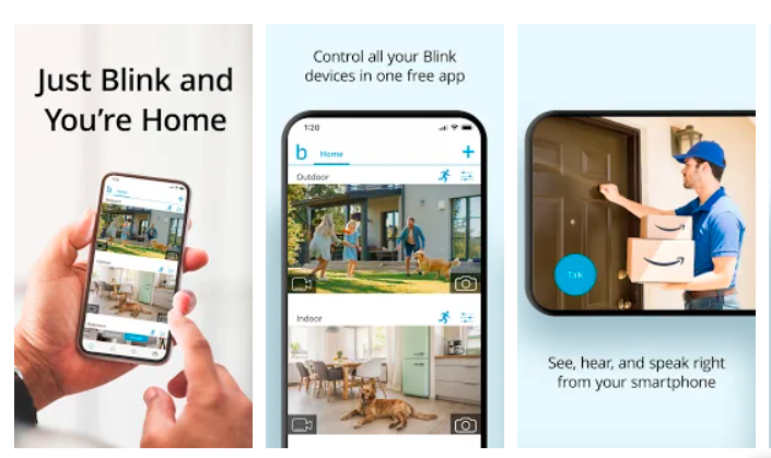 Prominent Features of Blink App