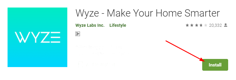 download and install Wyze Cam App for Mac