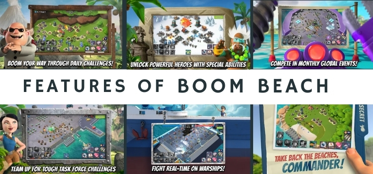 features of Boom Beach for MAC