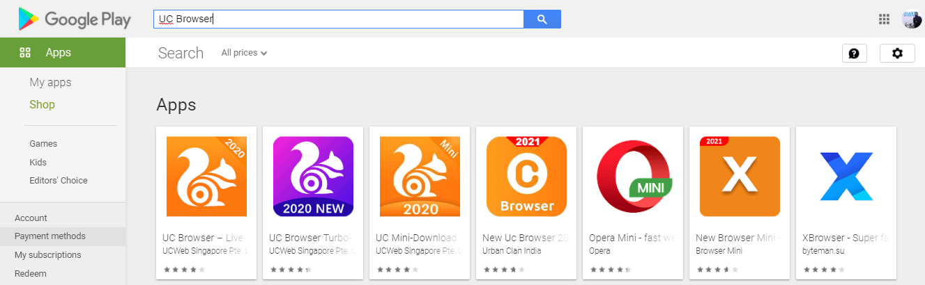 searchTo Download or Install UC Browser for Mac