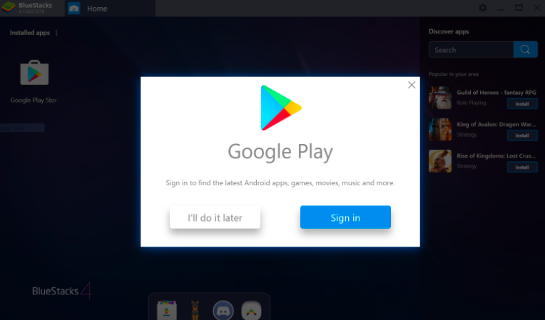 Download and Install Mobaxterm with Bluestacks