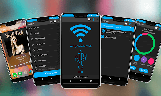A Brief Details About the iSyncr App