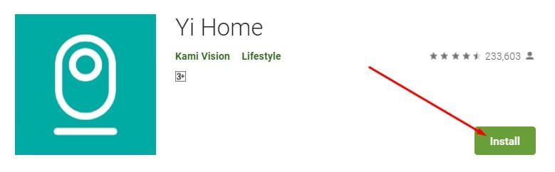 Download and Installation Process of the YI Home App for Mac