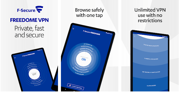 Features of Freedome VPN