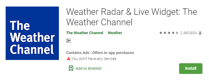 How To Download The Weather Channel or TWC for Mac