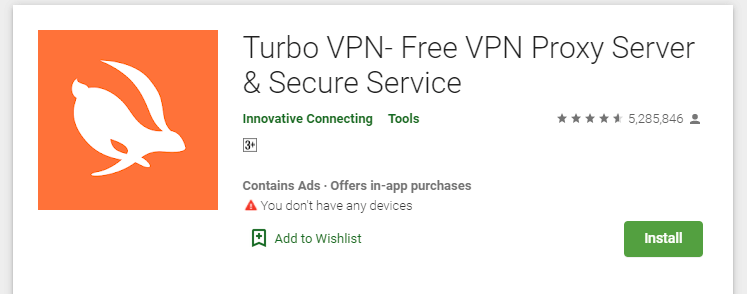 How To Download and install Turbo VPN for Mac