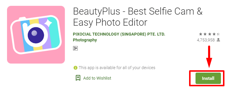 How to Download and Install Beauty Plus for Mac