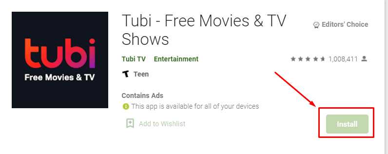 How to Download and Install Tubi TV for MAC