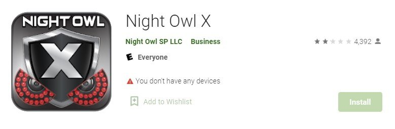 Night Owl X for pc