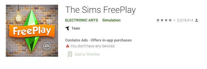 Sims Freeplay for windows