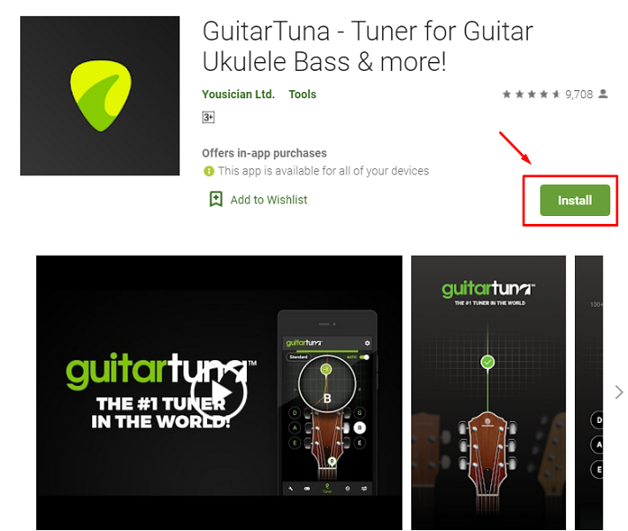 download and install Tuner for mac