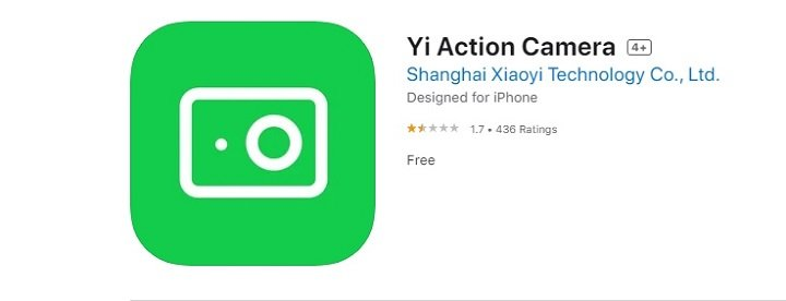 download and install Yi Action Camera App for Mac
