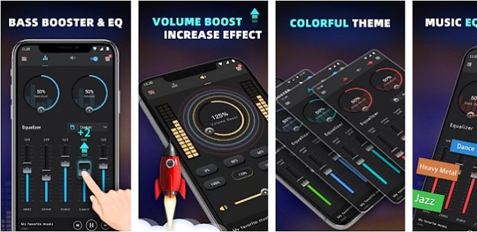 features of Bass Booster for Mac