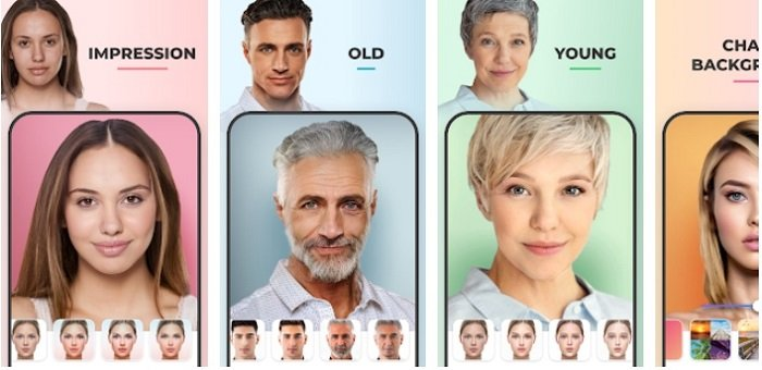 features of Face App for Mac