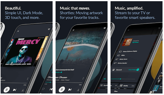 features of Saavn for Mac