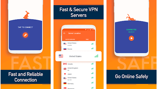 features of Turbo VPN for Mac