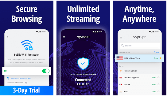 features of VyprVPN for Mac