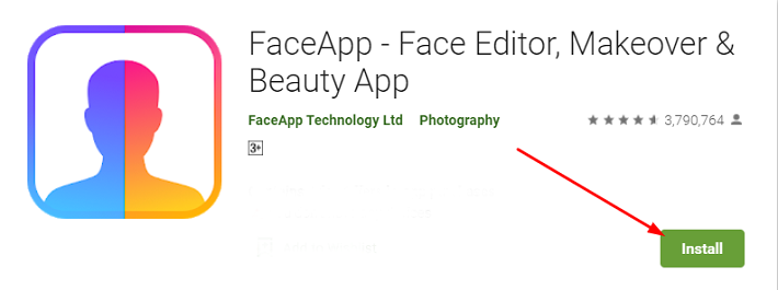 how to download and install Face App for Mac