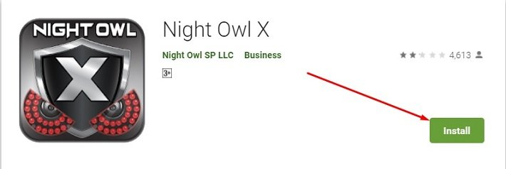 how to download and install Night Owl X for Mac