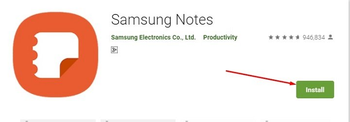 how to download and install Samsung Notes for Mac