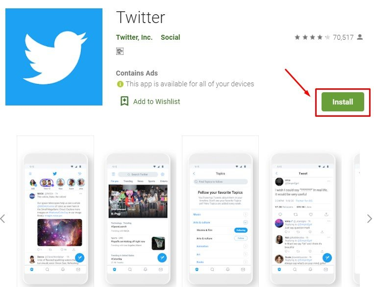 how to download and install Twitter for MAC