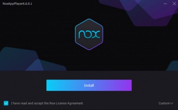 installation process of Bass Booster for Mac on nox player