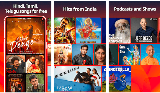 overview of Gaana for Mac