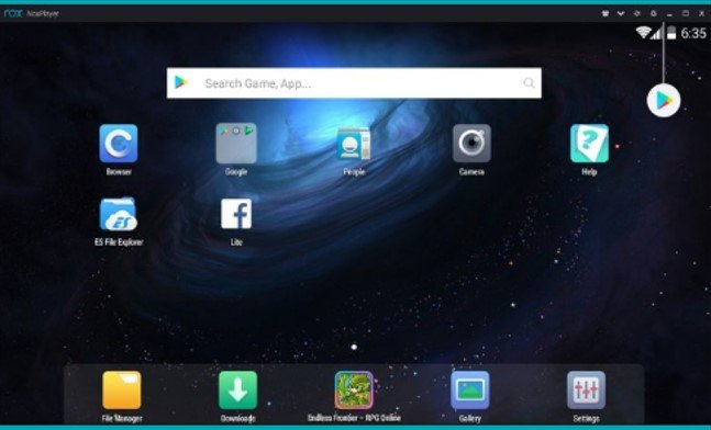 search for Twitter for MAC on play store
