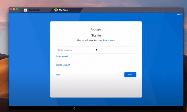 sign in with gmail to download Zenmate for Mac