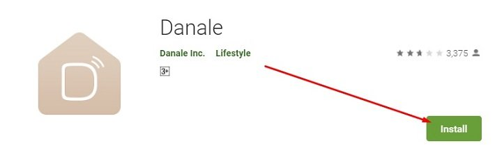 download and install Danale App for Mac