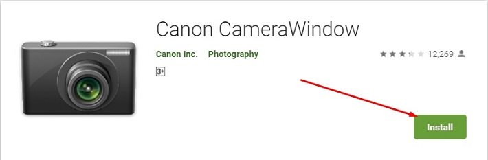 how to Download and Install Canon Camera Window for Mac
